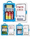 DEED Auto Kühlschrank 20L Auto Kühlschrank Kalt und Kalt Elektronischen Kühlschrank Hause Mini-Kühlschrank Mini-Kühlschrank Kann Gekühlt/Heizung,Weiß,20L
