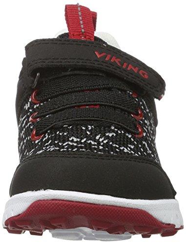 Viking - Veil, Scarpe sportive outdoor Unisex – Bambini Nero (nero/rosso)