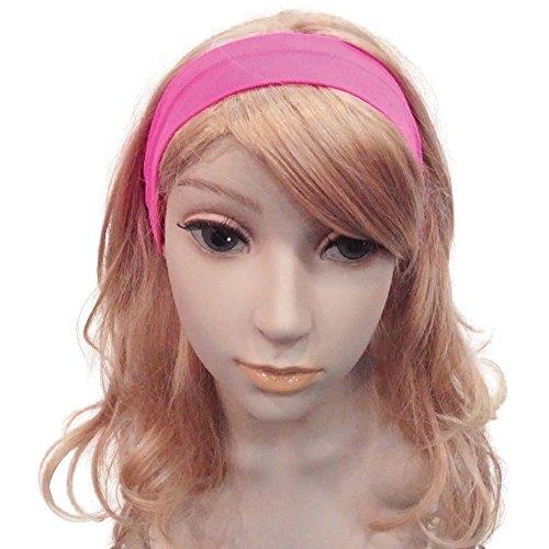 Bristol Novelty ba866Neon 80's Haarband pink, Damen, one size