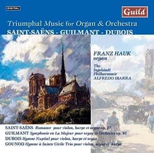 Werke für Orgel und Orchest