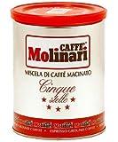Caffè Molinari Espresso 5* 'Premium', gemahlen, 2er Pack (2 x 250 g)