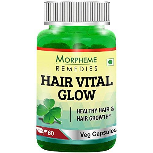 Morpheme Hair Vital Glow 60 Veg Caps – For Hair Health