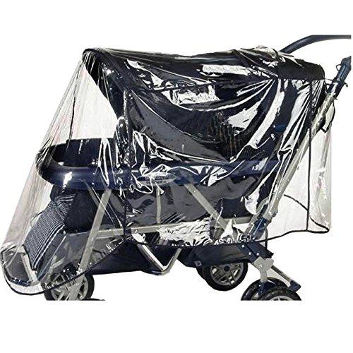 Reer Regenschutz für Geschwisterwagen
