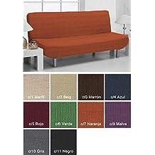 Belmarti Clic-Clac Bali - Copridivano bielastico, per divano letto, misura 170 x 205 cm VERDE C/6 - Bali Sofa