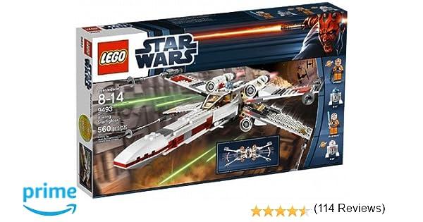 lego star wars 9493 jeu de construction x wing starfighter amazonfr jeux et jouets