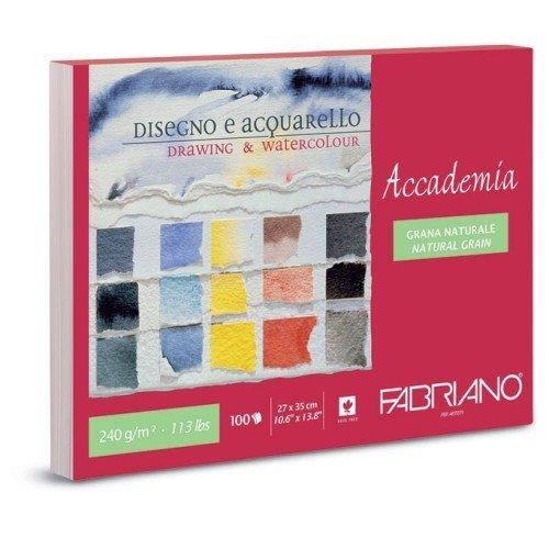 Fabriano 42402735 Zeichenblock, Baumwolle, weiß, 27 x 35 x 1 cm