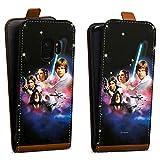 DeinDesign Tasche kompatibel mit Samsung Galaxy S9 Flip Case Hülle Star Wars Merchandise Fanartikel A New Hope