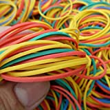 #1: FOX MICRO Universal (1 INCH) -Size Rubber Bands (500 per Pack)