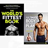 World's fittest book and your ultimate body transformation plan 2 books collection set