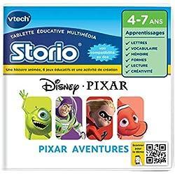 Vtech - 233505 - Storio 2 et générations suivantes - Jeu éducatif - Pixar Aventures- Toy Story - Némo Et Monstres