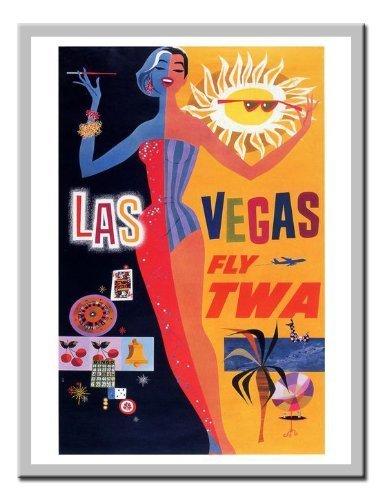 twa-las-vegas-1960-da-viaggio-stampa-lavagnetta-magnetica-argento-con-cornice-41-x-31-cms-circa-406-