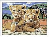 Ravensburger Malen nach Zahlen 28639 - Kleine Löwenbabys von Ravensburger Spieleverlag