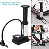 #2: Stvin New Buster Foot Air Cycle Pump for bicycle Bike Car With pressure gauge 12bar/170psi