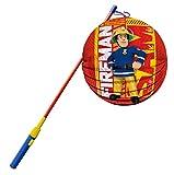 Feuerwehrmann Sam Laternenset für Kinder, elektronischer Laternen-Stab 49cm, St. Martin
