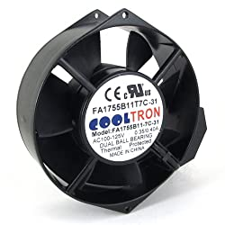 115V AC Cooling Fan. 172mm x 150mm x 55mm HS