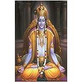 Lord Shri Krishna Poster For Room | Krishna Poster | Janmashtami Poster | Festival Poster | Religious Poster
