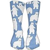 GLR Design Polar Bear Cute PatternUnisex Bequeme lässige Crew Socks Sportsocken,50cm