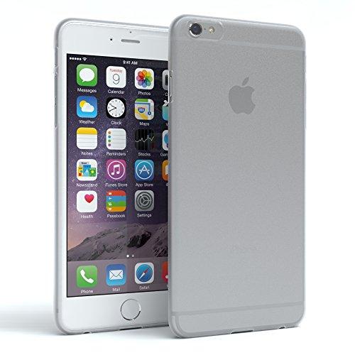 Hülle Silikon, matt & ultra dünn für Apple iPhone 6 & iPhone 6S I Slimcover, Handyhülle, Soft Case elastisch I Silikonhülle, Backcover, von EAZY CASE I durchsichtig, transparent (Apple Iphone6 Silikonhülle)