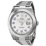 Rolex Uomo 41mm Bracciale & Contenitore acciaio inossidabile Saphire automatico quadrante grigio Watches m116300–0002