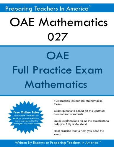 OAE Mathematics 027: OAE Math Study Guide - Guide Oae-study