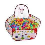 Kuuqa bambini Box Gioca tenda sfera Pit Pool con Red cerniera sacchetto di immagazzinaggio per i più piccoli, animali   Il prodotto è stato progettato per contenere le palle pit per migliorare la capacità del bambino di colori riconoscere e ...