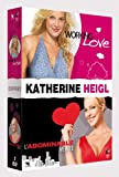 COFFRET KATHERINE HEIGL : WORKING LOVE + L'ABOMINABLE VERITE