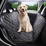 G-TEXNIK Coprisedili Auto per Cani Impermeabile Sedile Posteriore Cane Fodera per Auto Animali Domestici Supporto Portatile, Seat Cover for Dogs