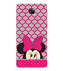 CUTE TEDDY Designer Back Case Cover for One Plus Three