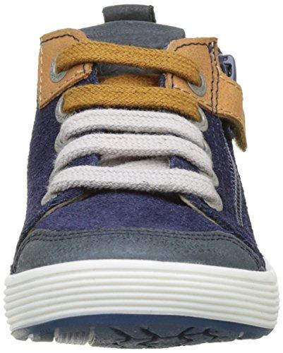 Aster Rojac, Baskets Hautes Garçon Bleu (Bleu Encre)
