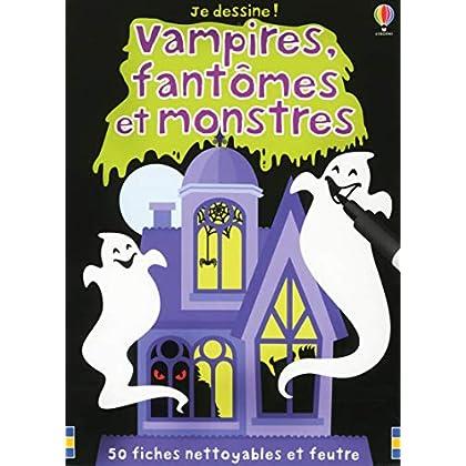 Vampires, fantômes et monstres - Je dessine !