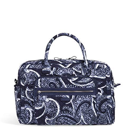 Vera Bradley Damen Iconic Weekender Travel Bag, Signature Cotton kultige, Wochenend- / Reisetasche, charakteristisch, Baumwolle, Indio, Einheitsgröße