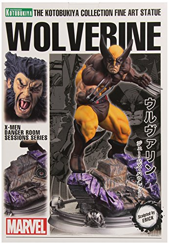 a Sammlung Kunstskulptur Wolverine Brown Kostüm Danger Room Sessions (Wolverine Kostüm Comic)