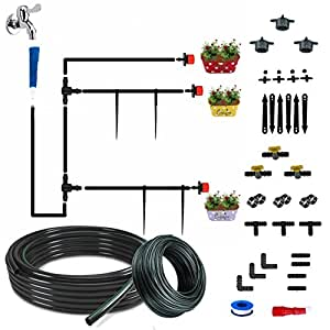 CINAGRO™ - Drip Irrigation Garden Watering 60 Plants Drip Kit