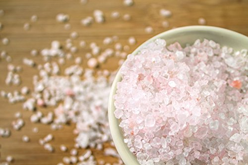 Hanoju Kristallsalz granuliert 1000 g Zip Beutel I Bekannt auch als Himalaya Salz I Körnung 1-3 mm I Aus den Minen der Salt Range geeignet für Salzmühlen (Himalaya Rosa Badesalz)