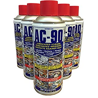 (PACK OF 5) Action Can AC-90 Penetrating lubricating maintenance spray 425ml