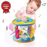ACTRINIC Babyspielzeug 6-12 Monate Ozean Park Rotierender Projektor, Vielerlei Beruhigende Musik & Lichten, Superspaß,Frühe Bildung Lernspielzeug für 1 2 3-jährige Mädchen / Jungen,Kinder oder Babys