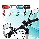 Yogasada Manillar de Bicicleta Espejo retrovisor Bicicleta Espejo de aleación de Aluminio Espejo retrovisor