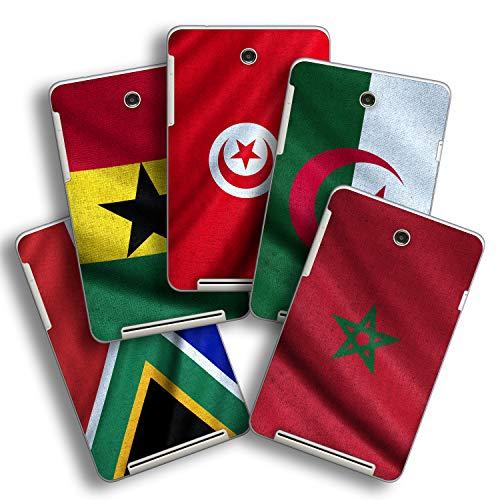 atFolix Designfolie kompatibel mit Asus MeMO Pad HD 7, Skin Aufkleber (Flaggen aus Afrika)