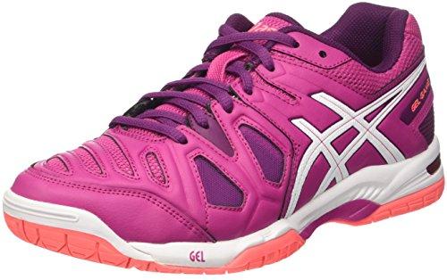 Asics Gel-Game 5 W, Chaussures de Tennis Femme, Multicolore (Berry/White/Plum), 36 EU