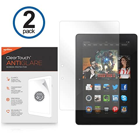 Kindle Fire HDX 8.9 (2013) Screen Protector, BoxWave® [ClearTouch Anti-Glare (2-Pack)] Anti-Fingerprint Matte Film Skin for Amazon Kindle Fire HDX 8.9 (2013)