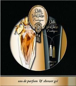 Dita Von Teese Erotique Geschenkpackung Edp 20 ml Plus 75 ml Showergel, 1er Pack (1 x 95 ml)