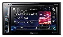 Pioneer Multimedia-Player (Doppel-Din, 6,2 Zoll / 6,2 Zoll), transparenter Touchscreen