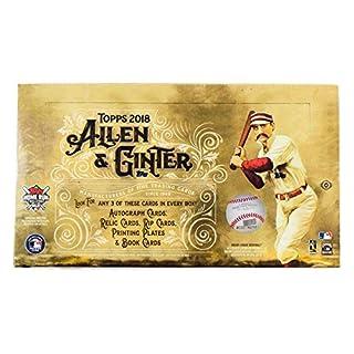 Topps 2018 Allen & Ginter Baseball Hobby Box MLB