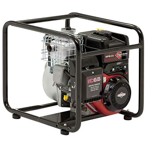 Full-rate-motor (Briggs & Stratton Elite WP3-65 Benzin-Wasserpumpe, 76 mm, 930 l/min, 8 m vertikaler Sauger und INTEK I/C Motor)