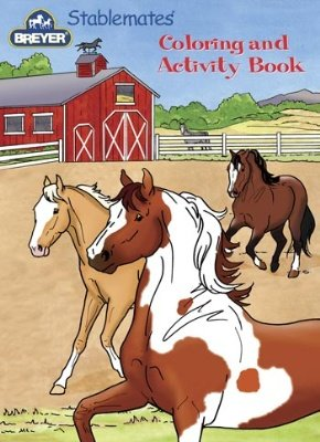 breyer-stablemates-coloring-activity-book-by-breyer