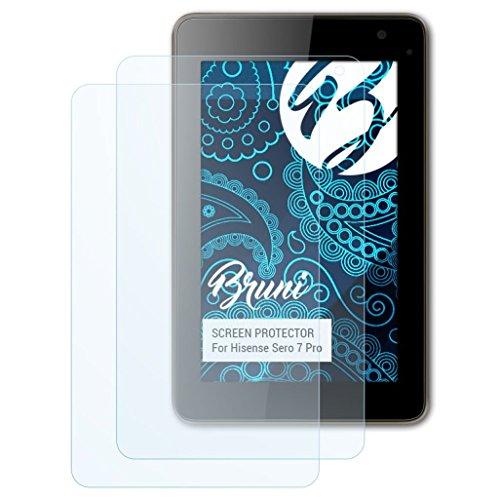 Bruni Schutzfolie kompatibel mit Hisense Sero 7 Pro Folie, glasklare Bildschirmschutzfolie (2X)