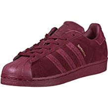 adidas superstar rouge cuir