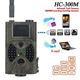Trail Tracking Camera Waterproof Infrared Night Vision Action Wild Game Hunting Camera Wild Animal Wide Angle Detection Range Lightning Trigger Speed