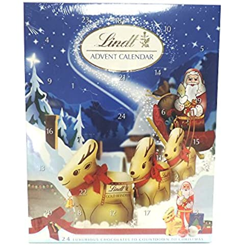 Lindt - Advent Calendar - 160g (Pack of 2)