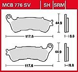 Bremsbelag Lucas MCB776 organischer Allround-Bremsbelag